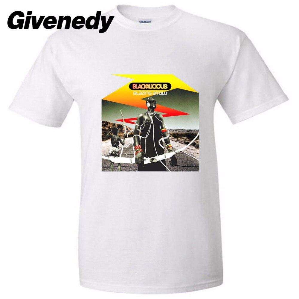 Black alicious - Blazing Arrow Mens & Womens High quality Retro T Shirt Printing Tee