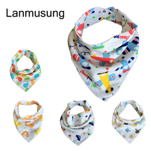 10pieces/lot  Baby Bibs For Boy&Girl Burp Cloths Bandana Bibs For Babies Baberos Bebes Bandanas Baby Bib For waterproof cloth