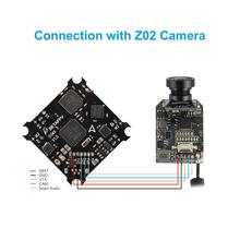 BETAFPV F4 FC 1S Brushed Flight Controller DSMX/Frsky Receiver ESC OSD Smart Audio for Tiny Whoop FPV Micro Racing Drone beta65S