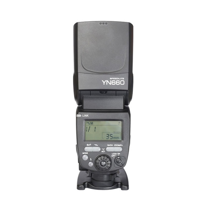 YONGNUO YN660 2.4GHz Flash Speedlite Wireless Transceiver Integrated for Canon Nikon Pentax Olympus DSLR Cameras yongnuo yn 510ex yn510ex off camera wireless ttl flash speedlite for canon nikon pentax olympus pana sonic dslr cameras
