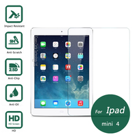 For Ipad Mini 4 Tempered Glass Screen Protector 2 5 9h Safety Protective Film On Mini4
