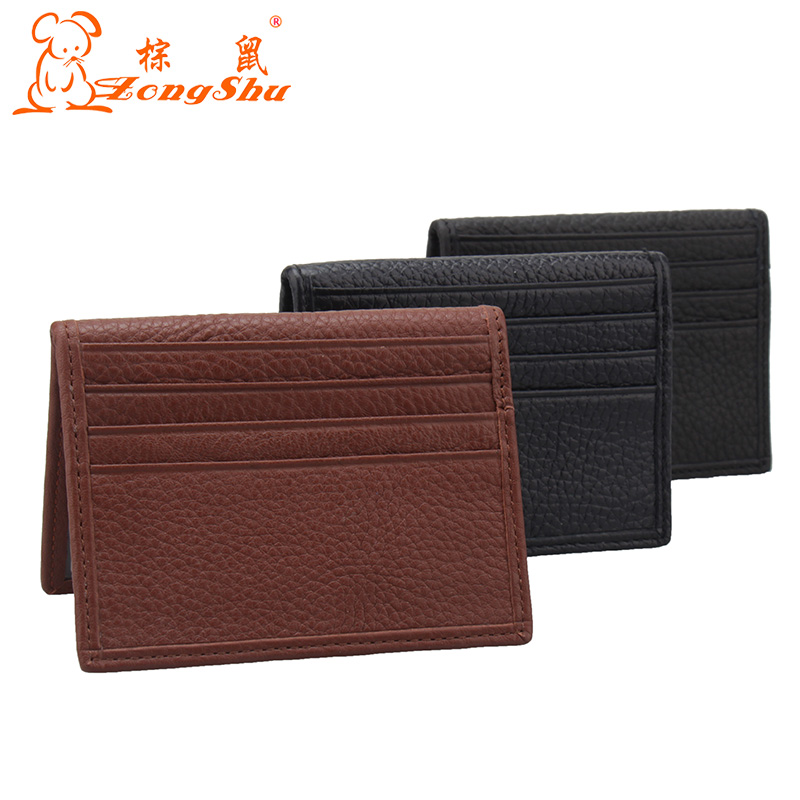 Quality brand 100% genuine leather cards holder slim men credit card cover Convenient ID Pocket case women's retro card bag cow обои виниловые флизелиновые zambaiti parati venezia r6406