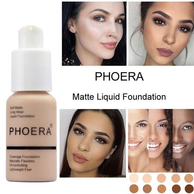 La belleza perfecta nuevo 30 ml Fundación mate suave desgaste largo de Control de aceite corrector líquido Fundación crema moda mujer maquillaje