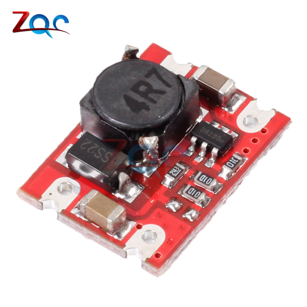 DC-DC 2V-5V to 5V Step Up Boost Power Supply Module Voltage Converter Board 2A Fixed Output High-Current For Dry lithium Battery produino 5v voltage boost mobile power module green 1a
