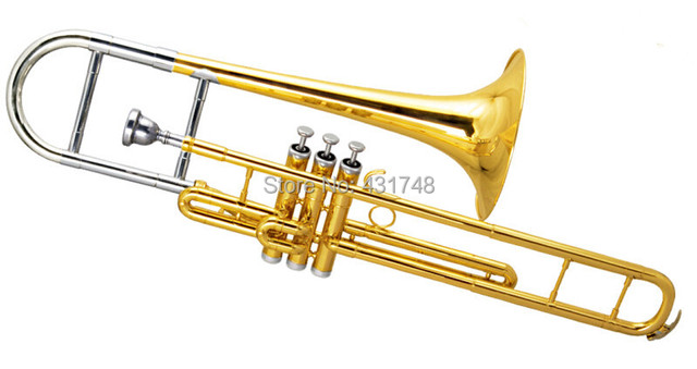 f piston trombones copper body cupronickel piston with. Black Bedroom Furniture Sets. Home Design Ideas