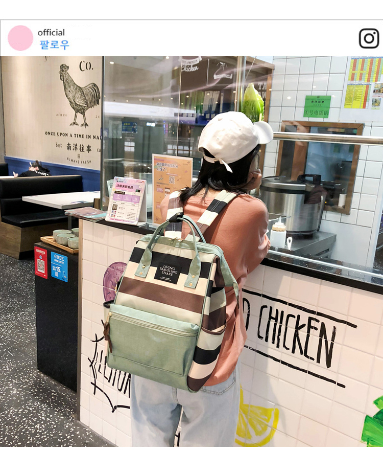 HTB1p3Vtbvc3T1VjSZPfq6AWHXXaW 2019 Korean Style Women Backpack Canvas Travel Bag Mini Shoulder Bag For Teenage Girl School Bag Bagpack Rucksack Knapsack