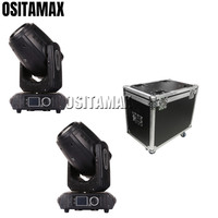 2pcs+flightcase DMX Super BSW Moving Head Light 280W 10R 3IN1 Professional 280 Pro Moving Light+Free Shipping