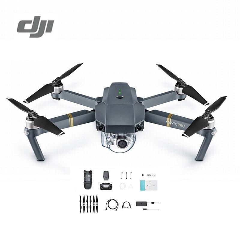 DJI Mavic Pro Cámara Drone 1080 p con 4 K Video RC helicóptero FPV Quadcopter paquete estándar Original