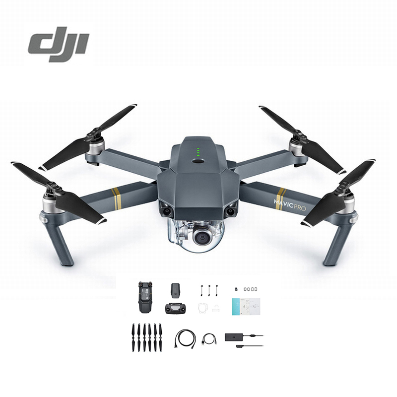 DJI Mavic Pro Camera Drone 1080P with 4K Video RC Helicopter FPV Quadcopter Standard Package Original dji mavic pro platinum fly more combo 1080p with 4k video camera drone rc helicopter fpv quadcopter original