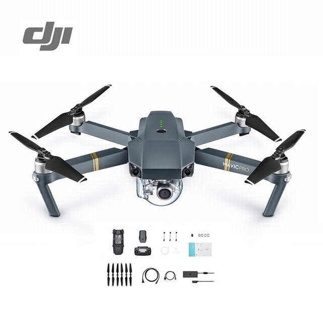 DJI Mavic Pro Camera Drone 1080P with 4K Video RC Helicopter FPV...