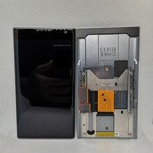 מקורי בשימוש עבור BlackBerry Priv LCD תצוגה עם מסגרת מסך מגע 5.4 החלפת עם כלים + דבק