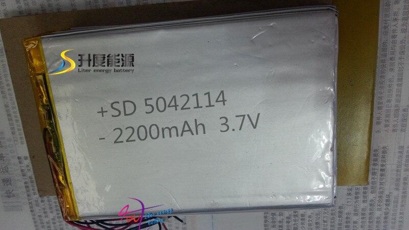 7a0bb603af8e SD pequeña capacidad li-ion polímero batería 3s1p 5042114 2200 mAh d   5mm