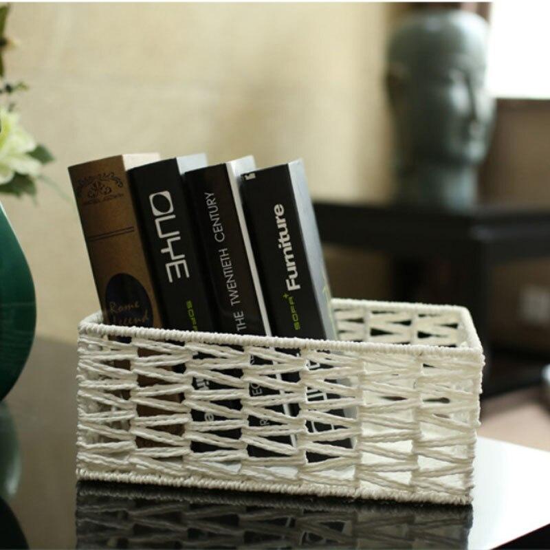 corn bran home organization zakka decorative storage baskets panier de rangement en tissu cestas almacenamiento colgantes