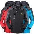 Hombres de invierno chaqueta de las mujeres chaquetas abrigos para hombres Abajo Parkas Chaqueta de Terciopelo varón térmica ropa deportiva Impermeable A Prueba de Viento de parejas