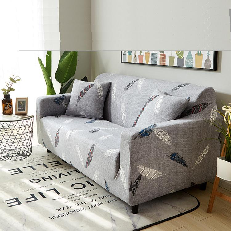 2018 New Universal 1/2/3/4 seater Sofa cover Big Elasticity Couch covers Printed stretch Funiture Flexible slipcovers ...