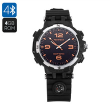 F35 Smart Bluetooth MP3 Watch 4GB Watch Pedometer Sleep Monitor Sporting Wearable Devices Smartwatch For Android