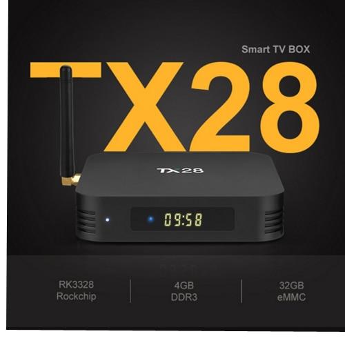 2PCS/LOT TX28 set-top box 4GB/32GB 4K Android TV Box 7.1 Rockchip RK3328 Quad Core 100M LAN 2.4G/5GHz Wifi BT4.1 Smart TV Box vontar tx28 android 7 1 tv box 4gb ram 32gb rom rockchip rk3328 quad core 100m lan 2 4g 5ghz wifi bluetooth 4 1 iptv smart tanix