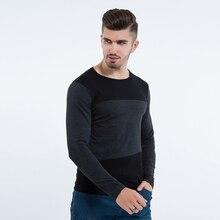 Liseaven Для мужчин S Повседневное Футболки экипажа Средства ухода за кожей шеи с длинным рукавом Slim Fit Для мужчин футболка для Для мужчин Размеры m l, XL 2XL 3XL 4XL 5XL