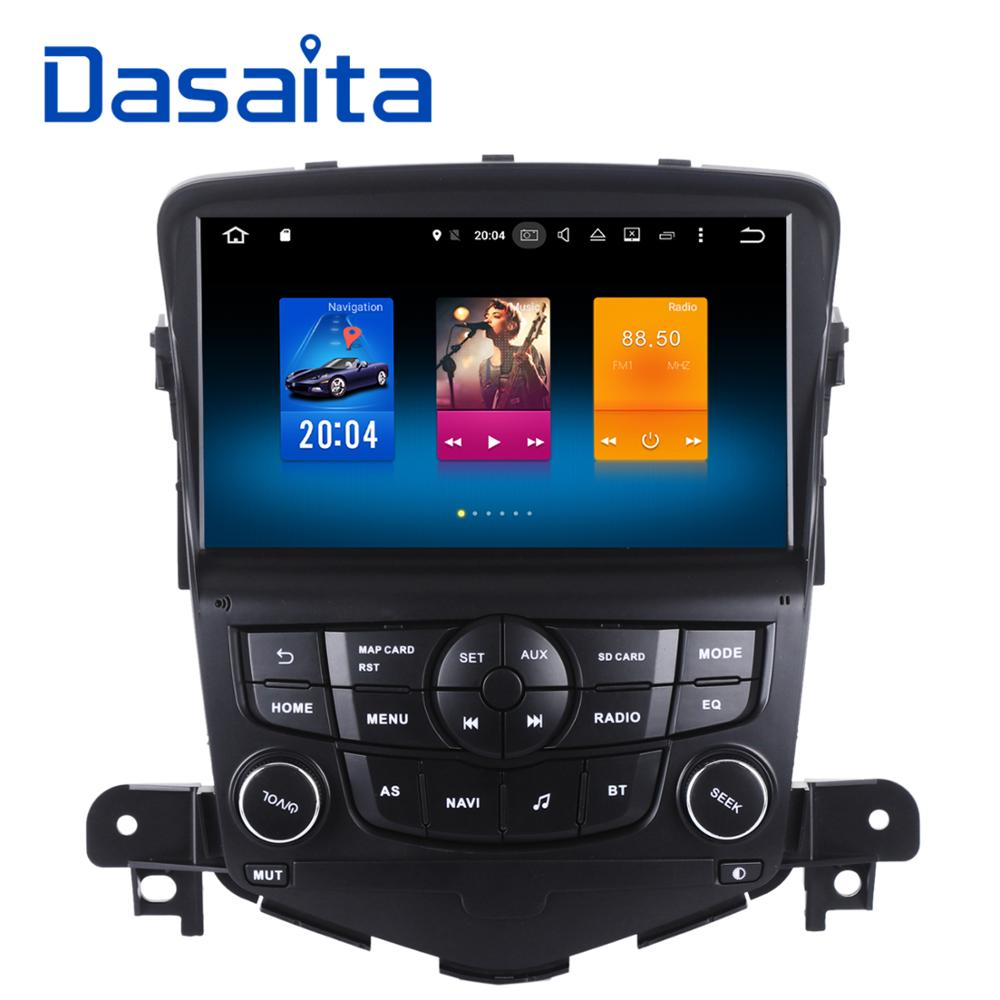 Dasaita 8&#8243; Android 6.0 Octa Core Car GPS for Chevrolet Cruze 2008-2011 NO DVD with 2GB Stereo Auto <font><b>Radio</b></font> Audio Head unit 4G DAB