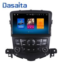 Dasaita 8 Android 8.0 Octa Core Car GPS for Chevrolet Cruze 2008 2011 NO DVD with 4GB Stereo Auto Radio Audio Head unit DAB