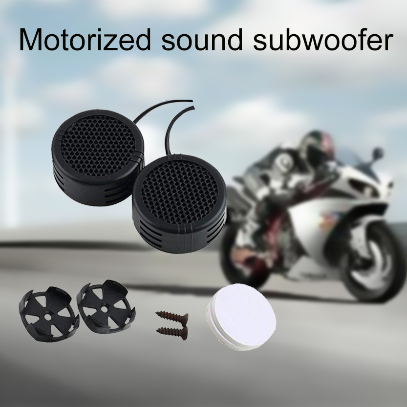 Protable Speaker For Car Speakers Motorcycle 2 x 500 Watts Super Power Supply Loud Dome Tweeter Amplifier caixa de som