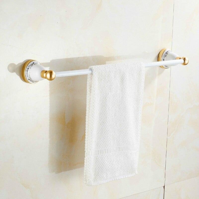 Porte-serviettes espace aluminium unipolaire Antique local or salle de bain étagère salle de bain accessoires porte-serviettes lo828446