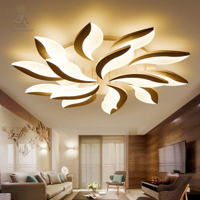 sl beleuchtung acryl moderne led deckenleuchten f r wohnzimmer arbeitszimmer schlafzimmer. Black Bedroom Furniture Sets. Home Design Ideas