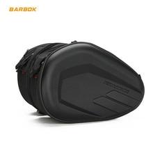 цена на 2pcs Universal Motorcycle Saddlebag Tail Bag Luggage Knight Helmet Bag Motorbike Tunnel Side Tank Bag Motocross Suitcase