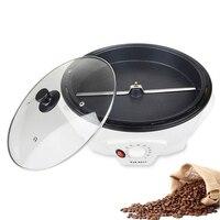 Electric Coffee beans roaster machine roasting Dried peanut non stick coating baking tool household Grain drying 110V 220V EU US