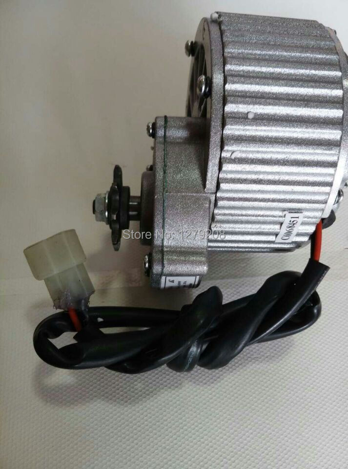 450w 24v my1018 gear motor brush motor electric tricycle for Dc motor brushes function
