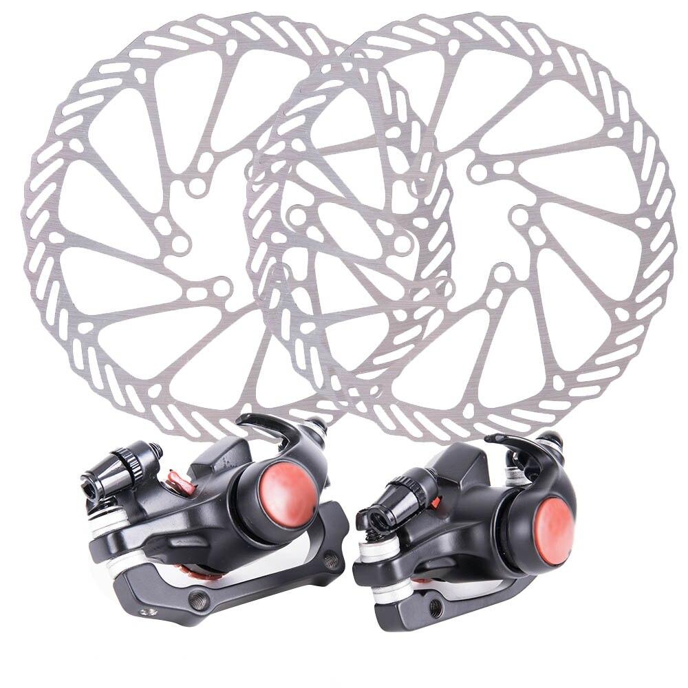 ZTTO 1pair Bicycle brake disc brake for mountain bike Mechanical Disc Brake with 160mm rotor