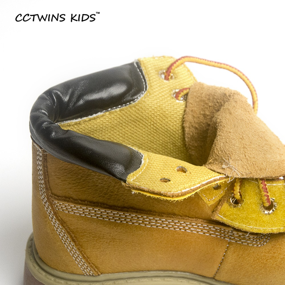 c2b009a90 CCTWINS KIDS spring autumn winter children boots kids warm shoe fur girls  Rome brown boots baby leather shoes toddler brand C001-in Boots from Mother  & Kids ...