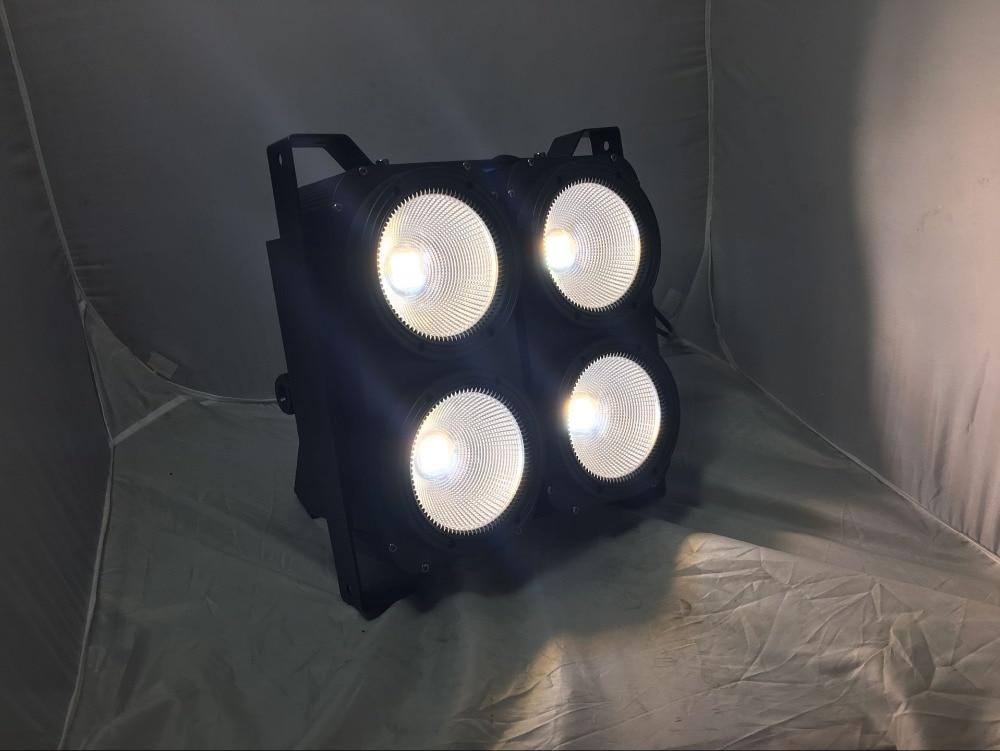 4*100w  LED COB  Blinder light  Warm White color audience light /led studio light for dj disco club cree cxa3050 cxa 3050 100w ceramic cob led array light easywhite 4000k 5000k warm white 2700k 3000k with without holder