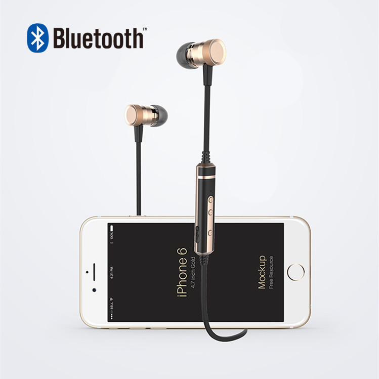 Newest Picun H6 Sport Bluetooth 4.1 Headset Wireless Stereo Music Earphone With Mic RemoteFor iphone 6s 7 Xiaomi Huawei Samsung headset 4 1 wireless bluetooth headphone noise cancelling sport stereo running earphone fone de ouvido for xiaomi iphone huawei
