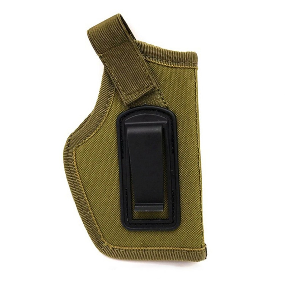 Outdoor Hunting Bags Tactical Pistol Concealed Belt Holster for Right Left Hands Glock All Compact Subcompact Pistols 2018 new