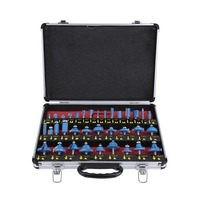 35pcs Set Professional TCT Tipped Router Bits Set 1 4 Inch Shank Tungsten Carbide Rotary Power