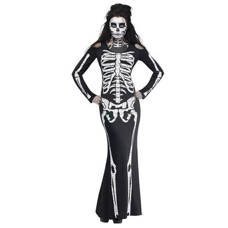 Хеллоуїн скелет партії жах жіноча - Святкові та вечірні предмети