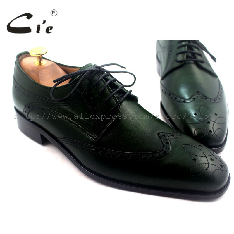 cie free shipping brogues derby lacing handmade