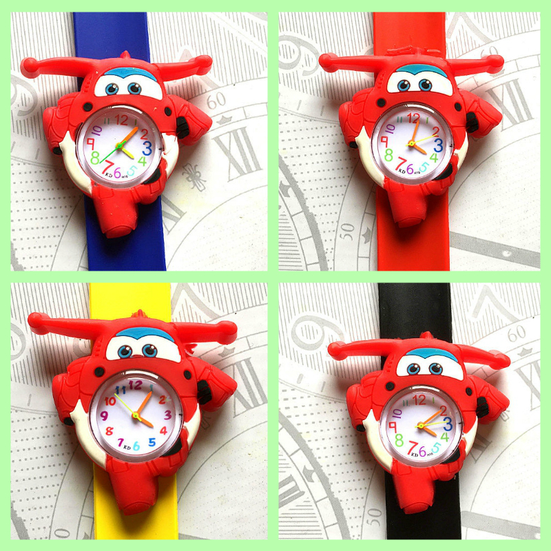 HBiBi Brand Children's Watch Aircraft Car Kids Baby Watches Clock Child Quartz Watches For Girls Boys Kid Gifts Relogio Montre