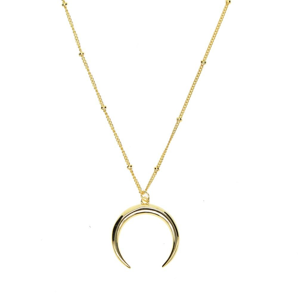Hot Sale Delicate Moon pendant Necklace s