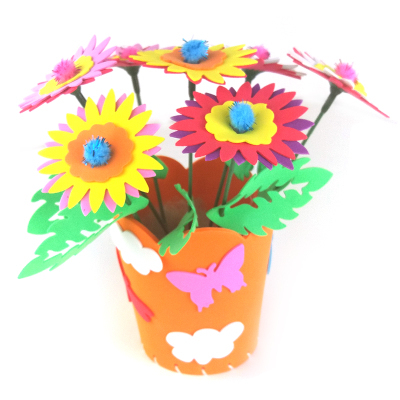 Creative Handmade Flower Pot