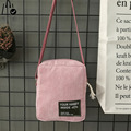 LINLANYA estrenar Corduroy Mujeres Messenger bags Bolsos de Moda bolsos de Hombro de Alta Calidad del bolso de Crossbody Y-441