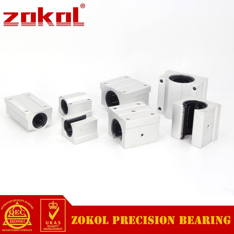 ZOKOL bearing SCS20LUU Slider Linear motion bearing Length 96mm золотой крестик