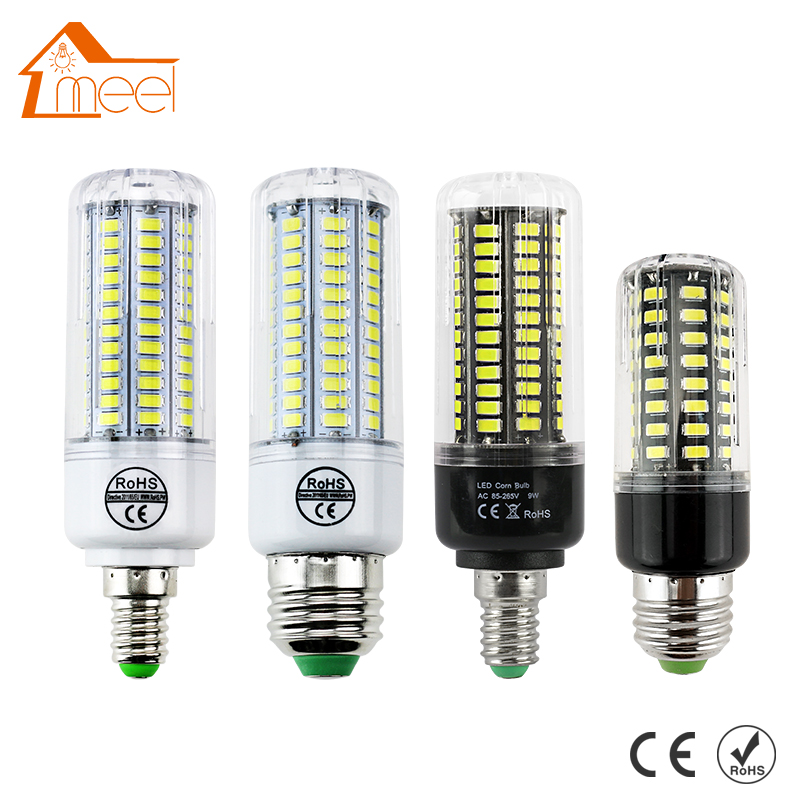 Bombillas LED Bulb E14 SMD 5730 AC 110V 220V 7w 12w 15w 18w 20w 25w 30w Led Lamp E27 Corn Light Chandelier Candle Lighting lexing lx r7s 2 5w 410lm 7000k 12 5730 smd white light project lamp beige silver ac 85 265v