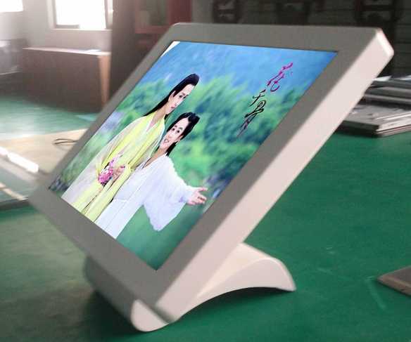 HD Tft Lcd HDMI Cctv Monitor Display 21.5 Inch All In One PC IR Touch PC Screen Desktop TV Function PC Desktop