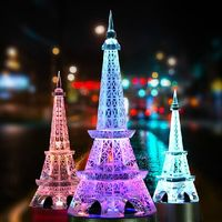 Paris crystal crafts decoration decoration Eiffel Tower model of European Home Furnishing birthday gifts