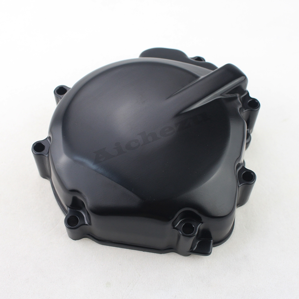 ACZ Motorcycle Parts Black Left Engine Stator Crankcase Cover Motor Carter Protector For Suzuki GSXR1000 GSXR