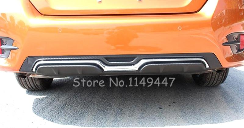 2016 2017 Автоматический задний бампер Чехол отделка для Хонда Цивик 10-го поколения седан 4-дверный