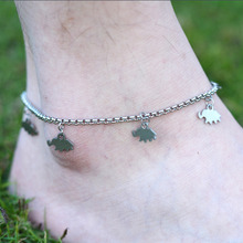 DIY 316L Stainless Steel Anklet Chain Stainless Steel Foot Jewelry Ankle Bracelet A001