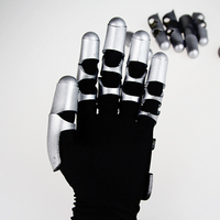 Violet Evergarden Cosplay Glove Mechanical Hand Cos Gift Fans Halloween Collections Props Gift Drop Ship